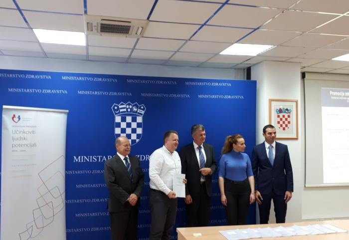 Potpisan ugovor za EU projekt Od prevencije do zdravlja